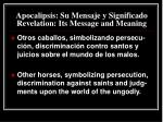 apocalipsis su mensaje y significado revelation its message and meaning11