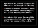 apocalipsis su mensaje y significado revelation its message and meaning17