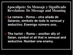 apocalipsis su mensaje y significado revelation its message and meaning30