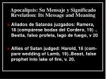 apocalipsis su mensaje y significado revelation its message and meaning32