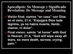 apocalipsis su mensaje y significado revelation its message and meaning33