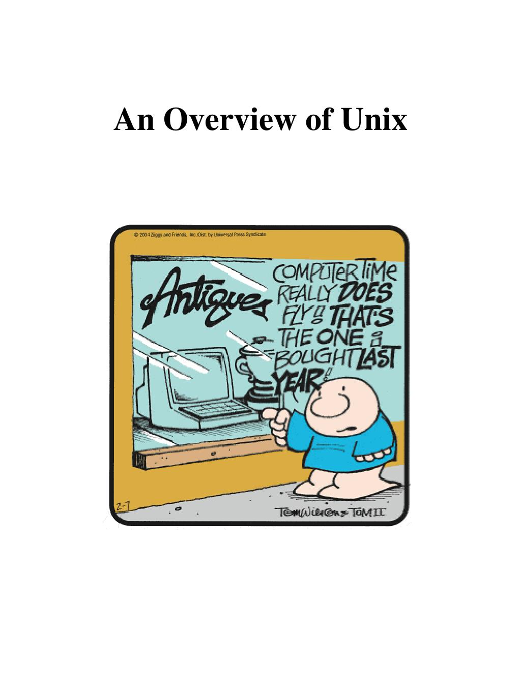 an overview of unix l.