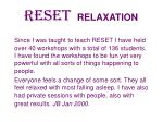 reset relaxation37