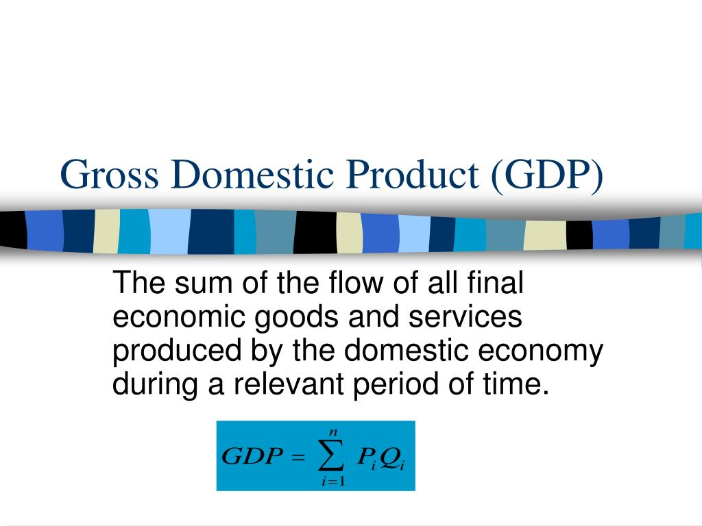 gross domestic product gdp l.