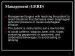 management gerd