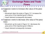 exchange rates and trade flows1