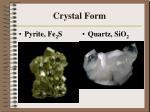 crystal form