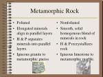 metamorphic rock30