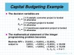capital budgeting example43
