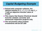 capital budgeting example44