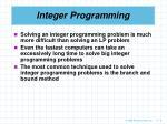integer programming6