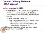 content delivery network cdn concept