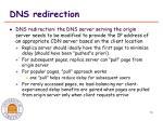 dns redirection