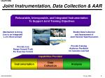 joint instrumentation data collection aar