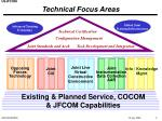 technical focus areas