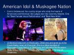 american idol muskogee nation