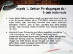 aspek 1 sektor perdagangan dan bisnis indonesia53