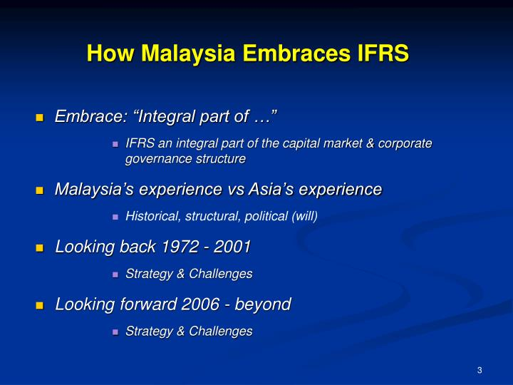 How malaysia embraces ifrs