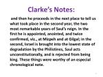 clarke s notes1