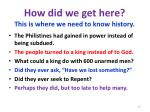 how did we get here this is where we need to know history6