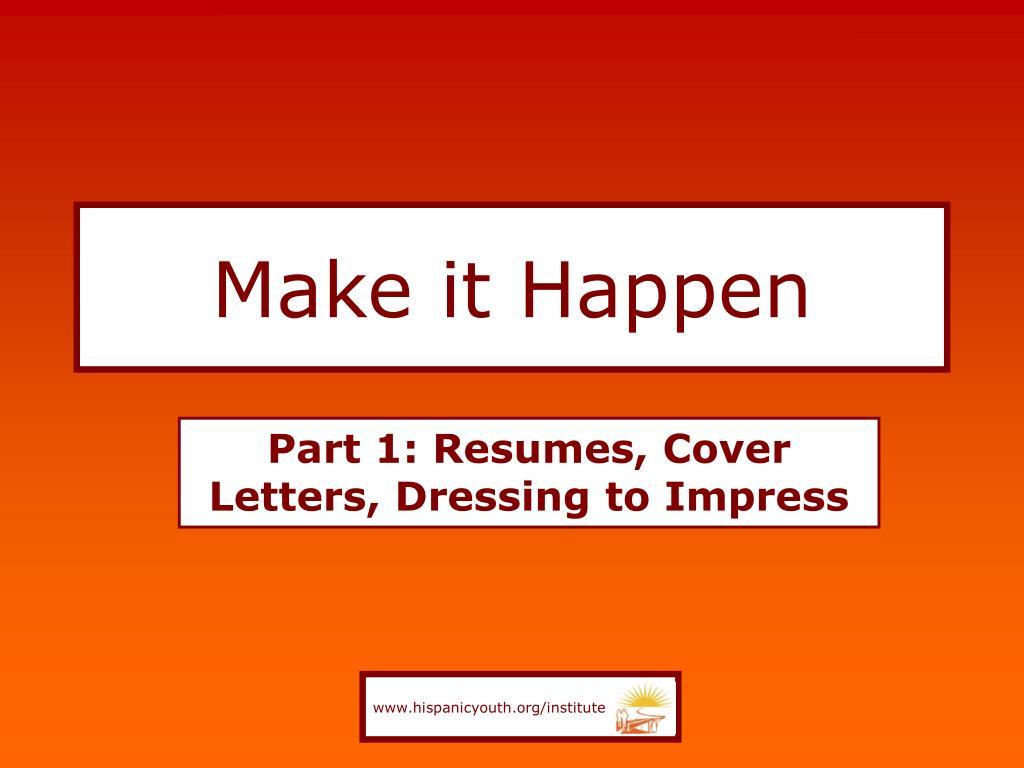 make it happen l.