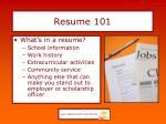 resume 1013