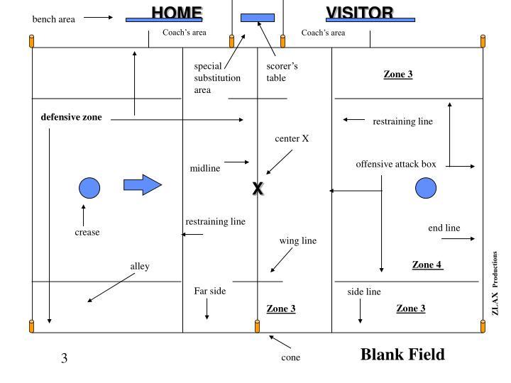Blank field