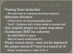 shootout basics
