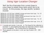 using vger location changer