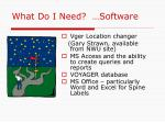 what do i need software15