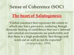 sense of coherence soc