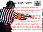 ice hockey rules