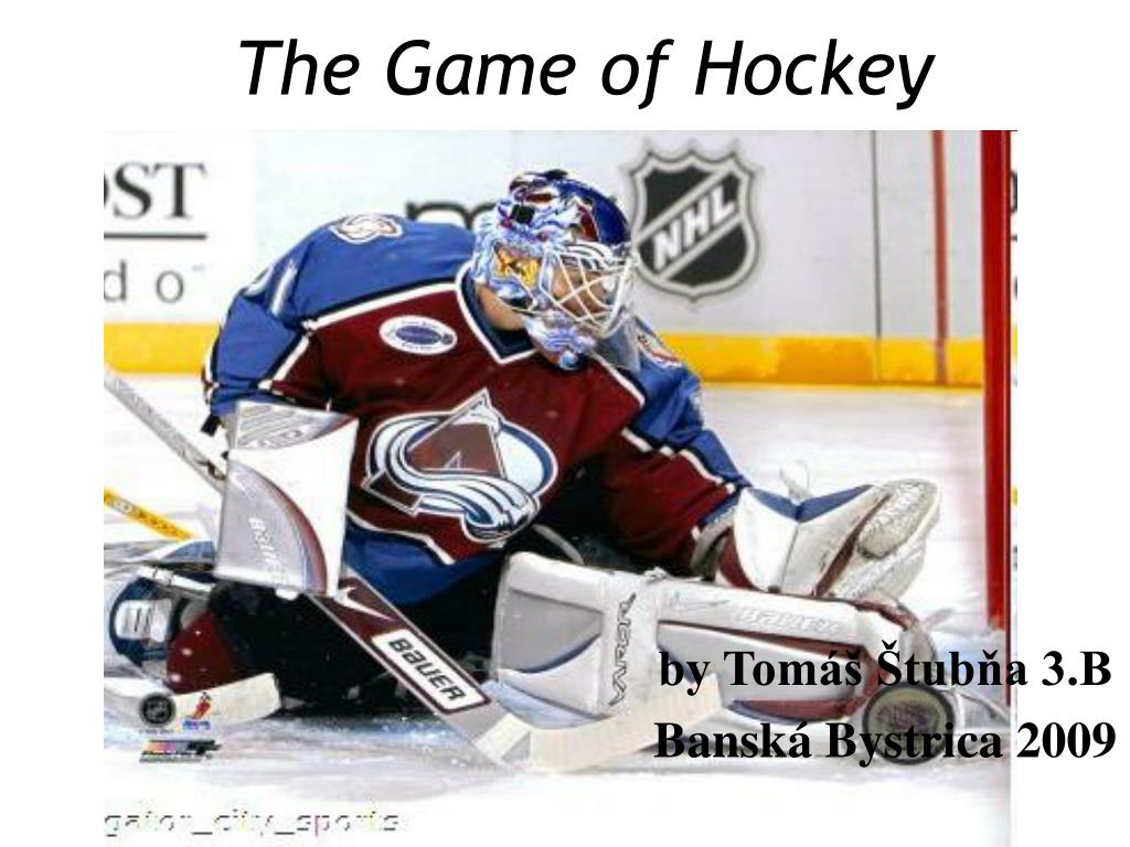 the game of hockey l.
