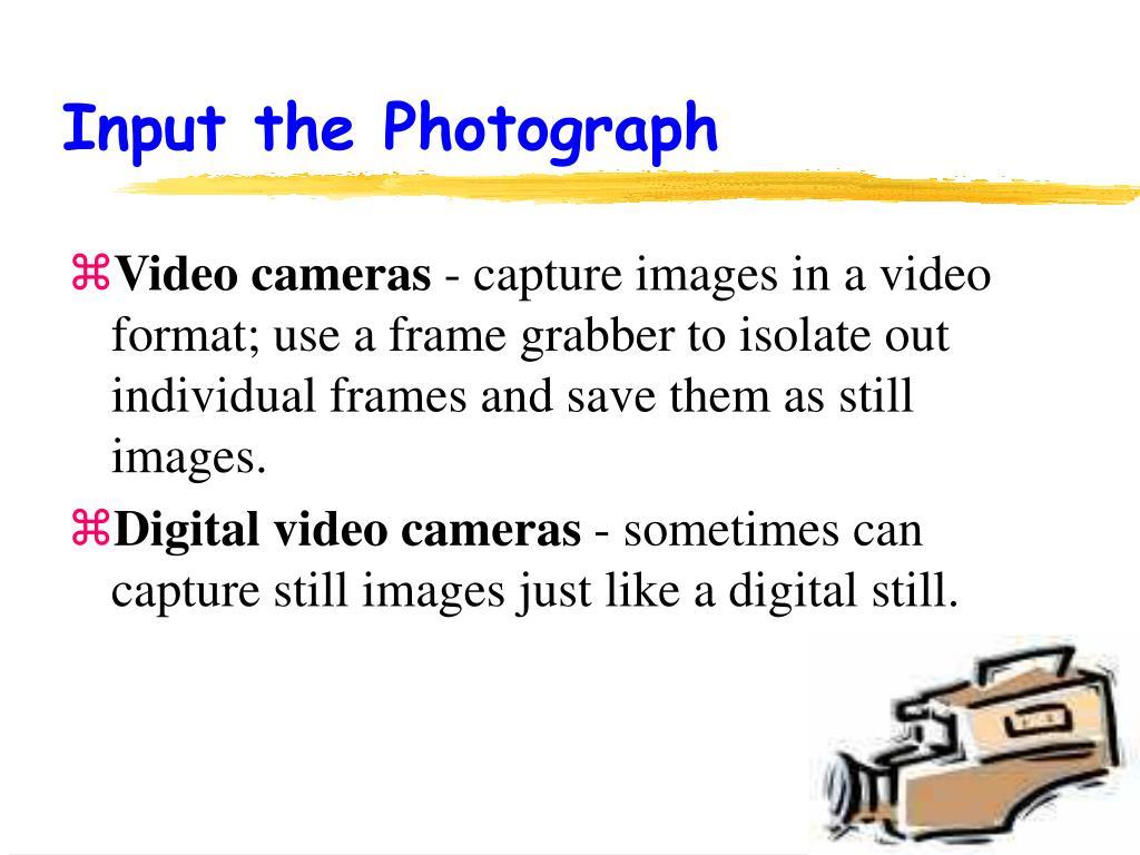 Input the Photograph