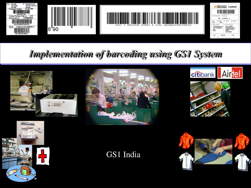 implementation of barcoding using gs1 system l.