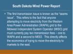 south dakota wind power report20