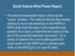 south dakota wind power report21
