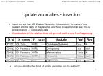update anomalies insertion