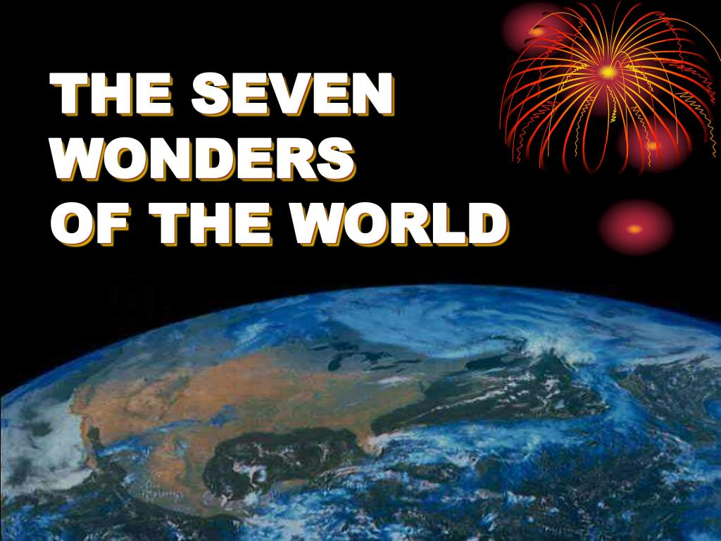 the seven wonders of the world l.
