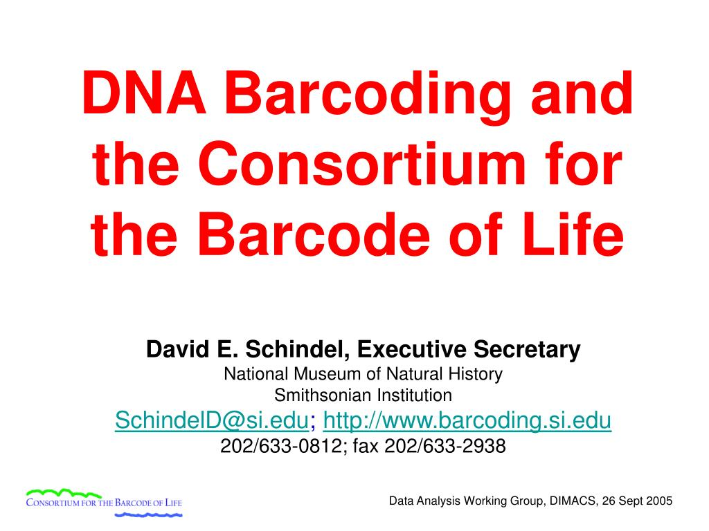 dna barcoding and the consortium for the barcode of life l.