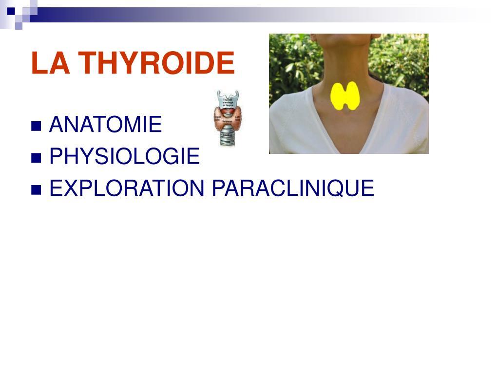 la thyroide l.
