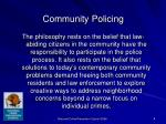 community policing6