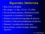 biguanides metformine