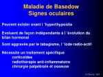 maladie de basedow signes oculaires
