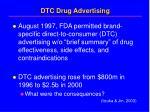 dtc drug advertising