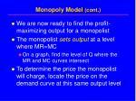 monopoly model cont10
