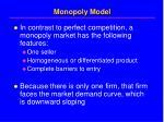 monopoly model