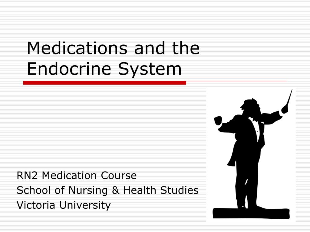 medications and the endocrine system l.