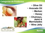 categor as de productos