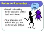 points to remember26